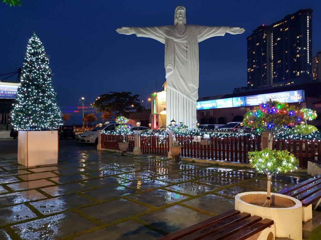 Malaysia Melaka Jesus-Statue